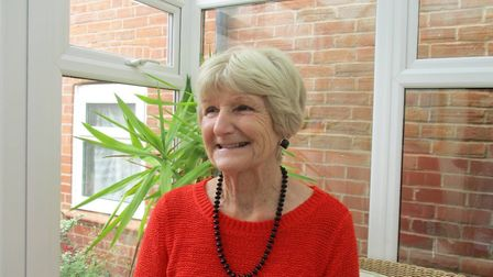 Sandra Iris is a bereavement volunteer for Sidmouth Hospiscare.