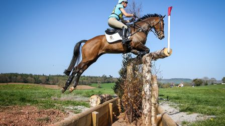 Action from Bicton Arena