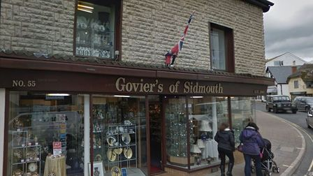 Goviers of Sidmouth. Picture: Google Maps