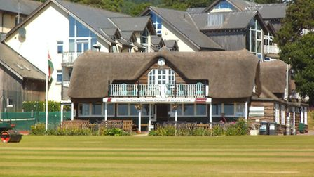 Sidmouth Cricket Club at The Fortfield