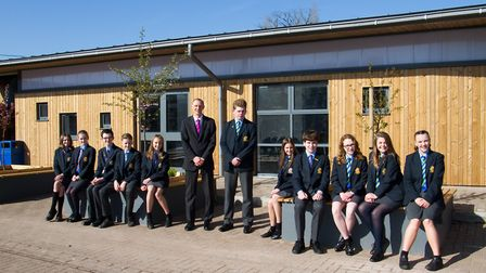 Kings School's new canteen. Ref sho 17 18TI 1671. Picture: Terry Ife