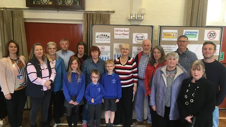 Residents of all ages have spoken about their concerns at the launch of a campaign to reduce speed i