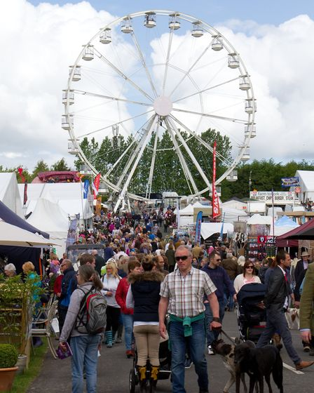 The Devon Eye will be returning to the county show this year. Ref shs 20 17TI 3481. Picture: Terry I
