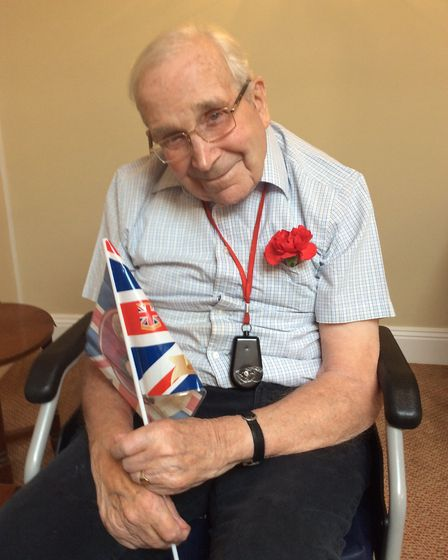Residents at Ridgeway Residential Home put on their best outfits to celebrate the Royal Wedding at t