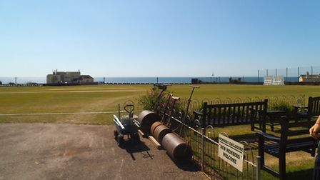 Sidmouth Cricket Club Green at The Fortfield