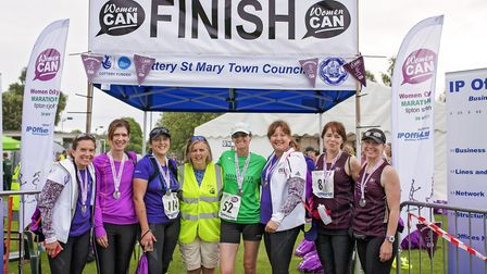 The first Women Can Marathon, in 2017. Photo by Monika Bajor Photography.
