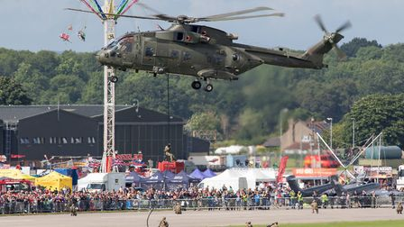 Royal Navy Air Station Yeovilton Air Day. Picture: Paul Johnson