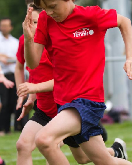 Sidmouth Primary schools sports day. Ref shs 21 18TI 4262. Picture: Terry Ife