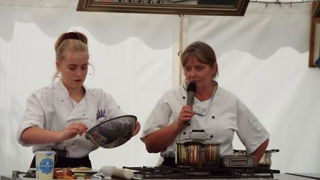 A live demonstration by staff and students from The King's School.
