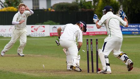 Dom Bess claims an early wicket - a taste of things to come