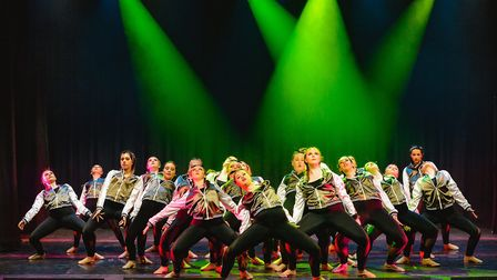 The Finch School of Dancing perform their latest show Burn it Up! Picture: David Maxwell - order pho