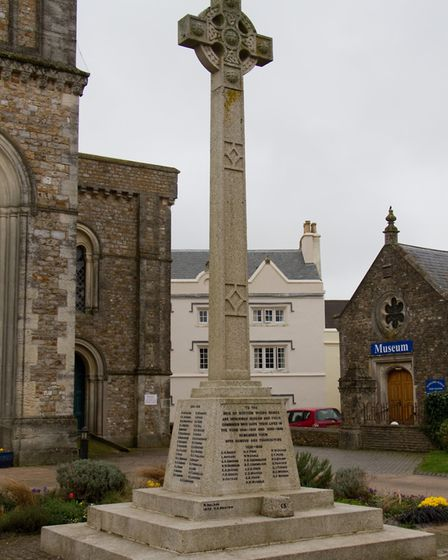 Hointon War Memorial. Picture: Terry Ife