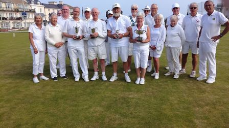 Sidmouth Croquet Club players at the June Tournament meeting