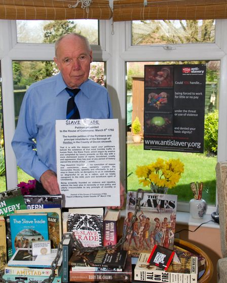 Tony Simpson wrote about a range of subjects for the Resident, including Honiton's links with the sl