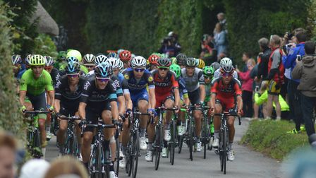 The world's best cyclists will pass through Ottery on September 3.