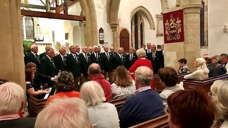 A very special concert was held at St Giles' in Sidbury.