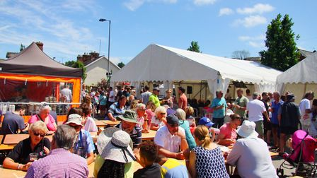 Vendors at the Food and Families Festival have donated their takings to support the Ottery carnival