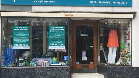 Hospiscare put a sign up in the window saying it was closing May 31 and thanked everyone for their s