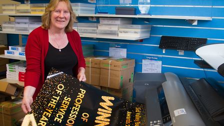 Tracey Millar of Sidmouth Print. Ref shs 22 18TI 5014. Picture: Terry Ife