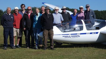 The latest course at the Devon and Somerset Gliding Club
