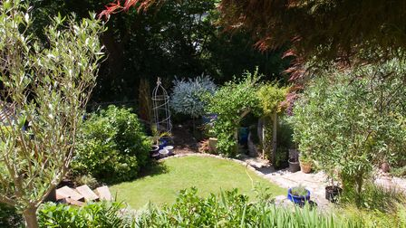 Sidmouth in Bloom open gardens. Ref shs 24 18TI 5089. Picture: Terry Ife