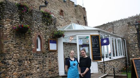 Katie Dawson, deputy manager, and Hannah Gait, The Clock Tower Cafe