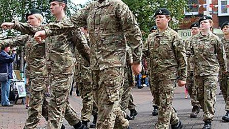 A previous Armed Forces Day parade