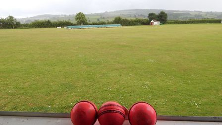 A view from a cricket scorebox