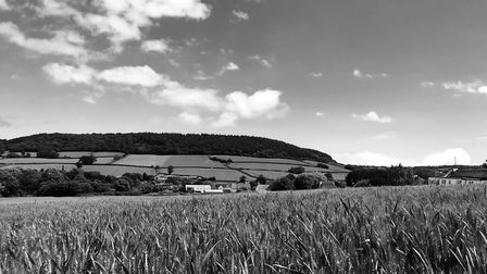 Sidbury in black and white. I'm not a photographer by any stretch of the imagination. These are just