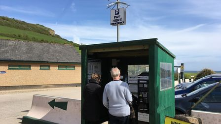 The camera-controlled parking system at Branscombe