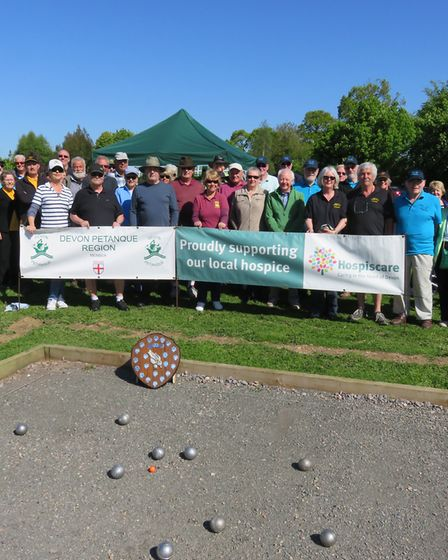 The teams supporting the Mike and Josie Charoty Shield
