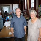 Leigh Edwards and Cllr Elli Pang event organisers