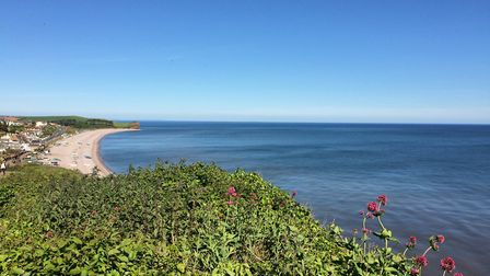 Walking along this stretch of the River Otter takes in the views at Budleigh Salterton. Picture: Eas
