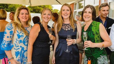 Guests enjoy canapes and drinks at the Harbour Hotel to raise money for Sidbury Primary School. CRED
