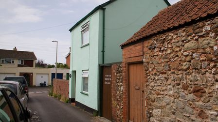 Woolcombe Cottage on Chandlers Lane, Sidmouth. Ref shs 28 18TI 7598. Picture: Terry Ife