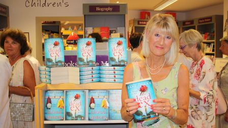 Jane Corry launches her new novel 'The Dead Ex' in Winstones bookshop
