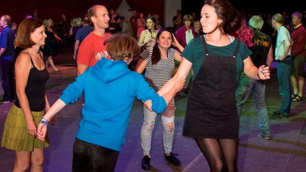 People of all ages enjoy a good ceilidh: Picture by Kyle Baker Photography