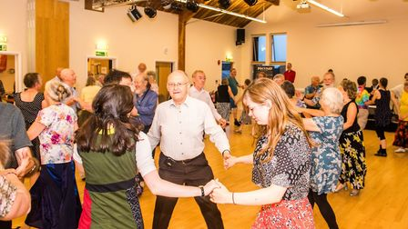 Folk dancing brings generations together