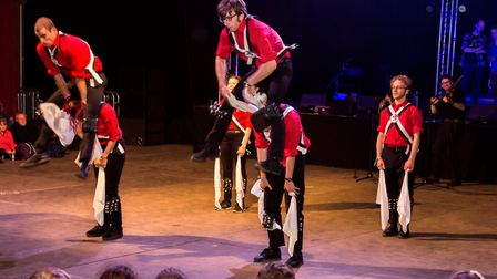 The Clausentum Morris, performing last year at Folk Week last year: Picture by Kyle Baker Photograph