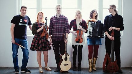 The Bulverton, The Monster Ceilidh Band