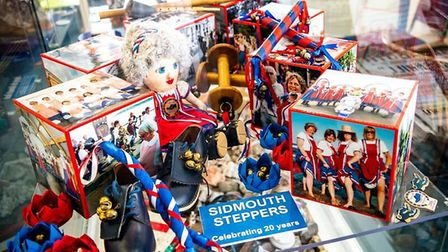 Memorabilia from twenty years of Sidmouth Steppers