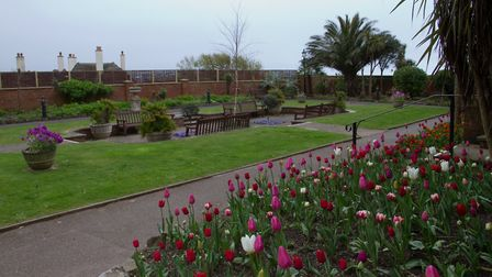 Connaught Gardens in bloom. Ref shs 17 18TI 1841. Picture: Terry Ife