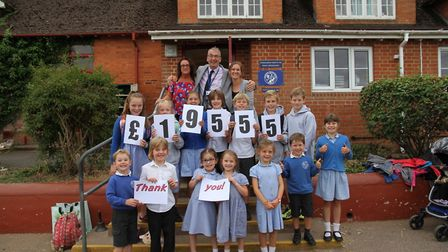 Newton Poppleford Primary School children, parents and teachers are thrilled with the amazing suppor