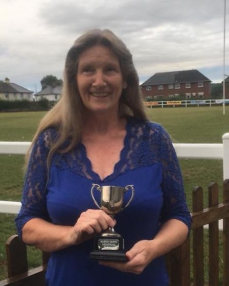 Denise Meyers of Otters, names Umpire of the Year by the Honiton Netball League