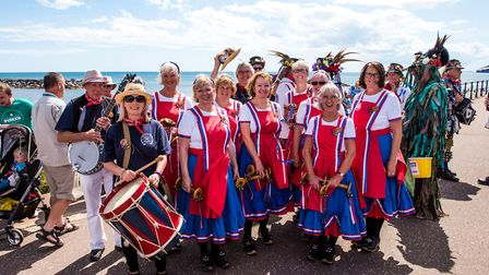 Sidmouth Steppers celebrate 20 years. Picture: Kyle Baker