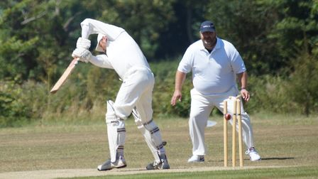 Tipton batsman David Thayre is bowled in the game against Bakers. Picture: PHIL WRIGHT