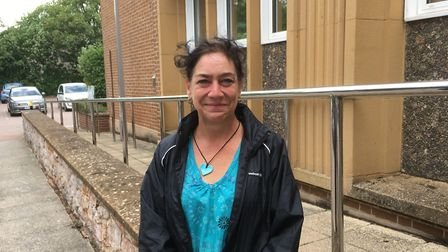 Maxine Blackmore outside Exeter Magistrates' Court