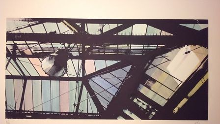 Roof of Waterloo Station, by Richard Kaye. Picture: Contributed