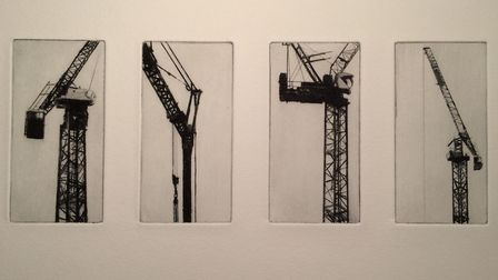 Crane, multi-plate, by Richard Kaye. Picture: Contributed