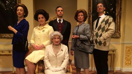 The comedy Handbagged explores what private conversations could have taken place between the Queen a